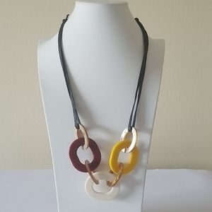 Jewelry - Fashion acrylic necklace.